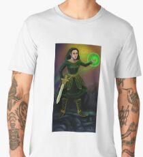 Fantasy wizard warrior Men's Premium T-Shirt