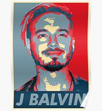 J Balvin Poster