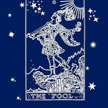 Tarot Card 0 The Fool by Greenbaby