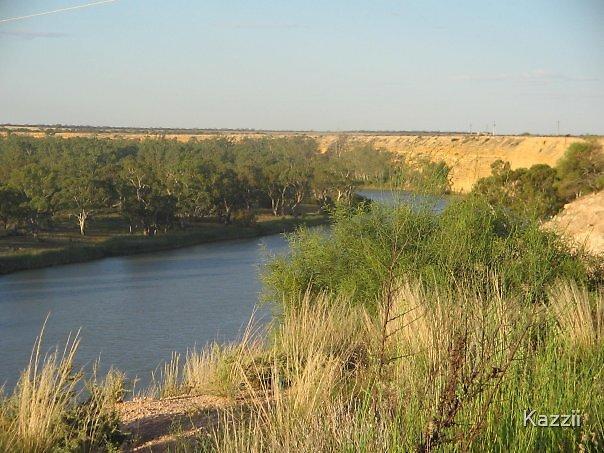 Reaching River by Kazzii