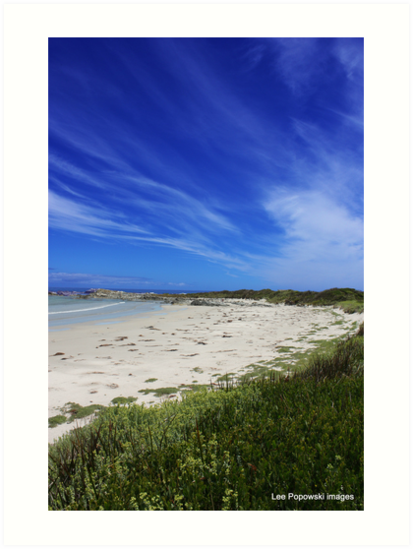 Blue sky Mile by Lee Popowski