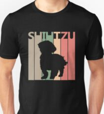 Shih Tzu Dog Silhouette Unisex T-Shirt