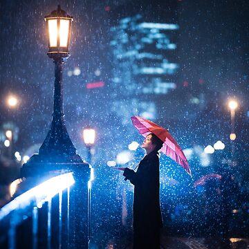 Osaka Rain by SayAhh