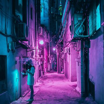 Seoul Alley by SayAhh