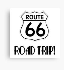 Road Trip on Route 66 Canvas Print