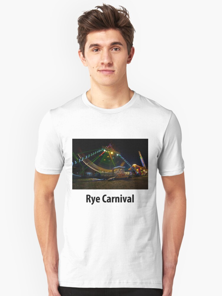 Rye Carnival 2010 Pirate ride Unisex T-Shirt Front