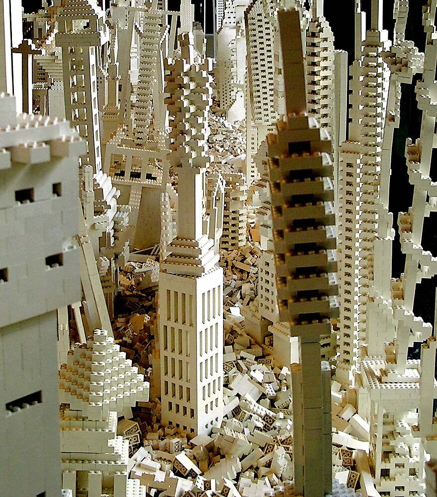 People's Lego City by jembot