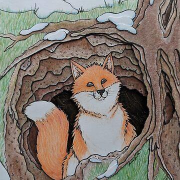 Hideaway Foxy by woaarts