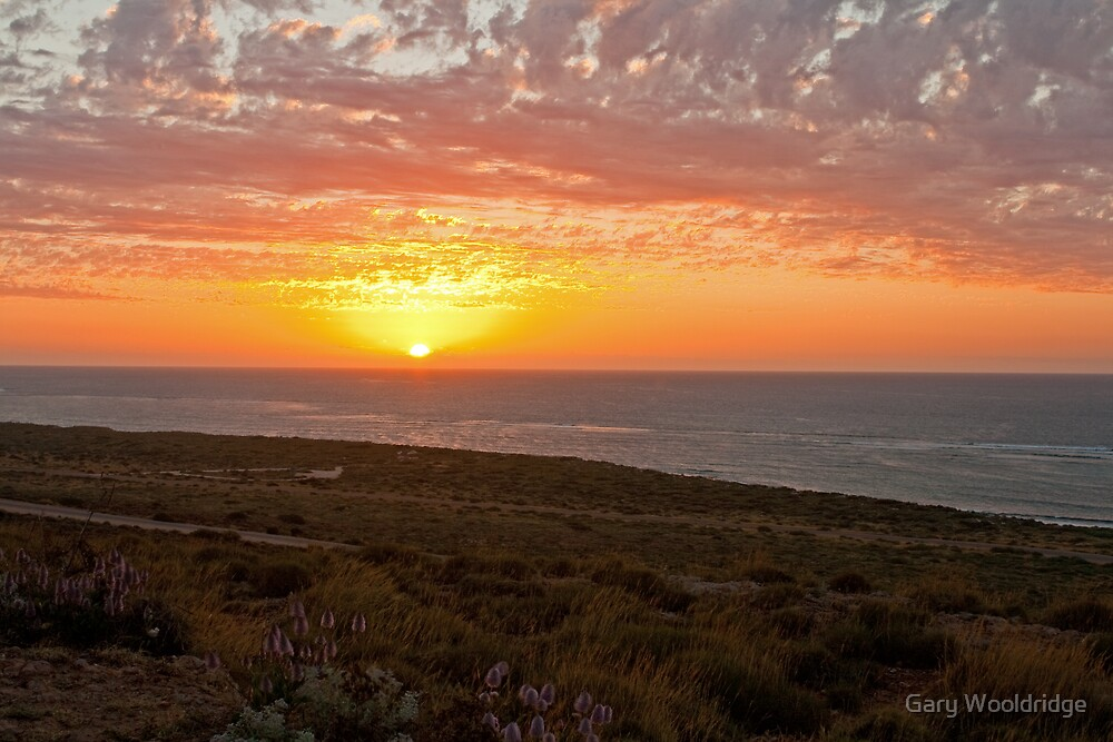 Exmouth Sunset by Gary Wooldridge