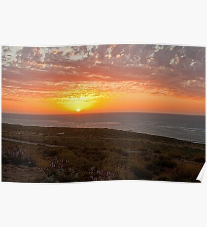 Exmouth Sunset Poster
