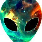 Alien Galaxy by Anne Mathiasz