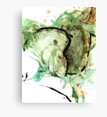 Oil and Water #23 Canvas Print