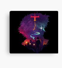 See you space cowboy Canvas Print
