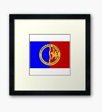 The Comanche Nation - Flag Framed Print