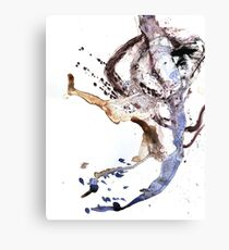 Oil and Water #24 Canvas Print