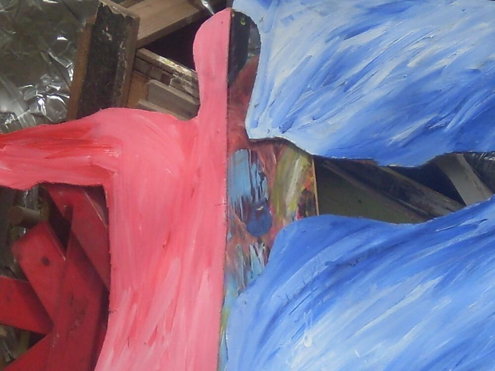Cross Here by Frank Barresi