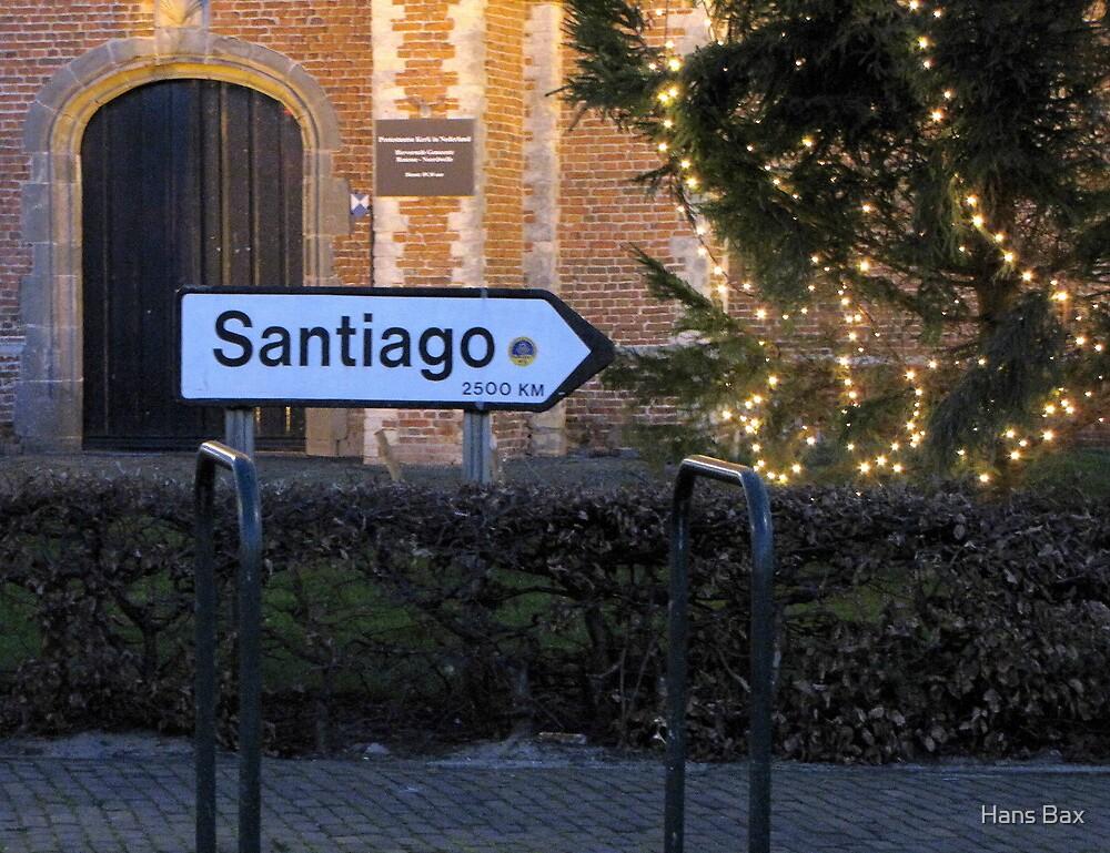 Santiago, next stop??? by Hans Bax