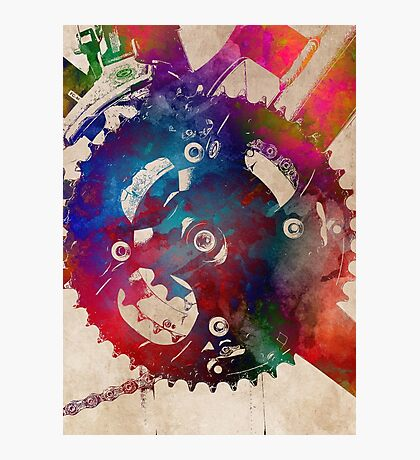 Cycling #cycling #sport Photographic Print