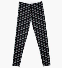 Tight Crew's Raving Riders Logo Leggings