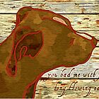 You had me with your long flowing ears, romance, dog lover painting digitally transformed by Kennsco
