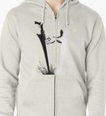 Final Fantasy VIII Blades of Rivals  Zipped Hoodie
