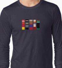 Color Palette Of Justice Long Sleeve T-Shirt