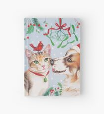Christmas kiss by Maria Tiqwah Hardcover Journal