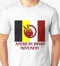 The American Indian Movement - Flag T-Shirt