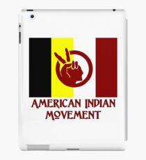 The American Indian Movement - Flag iPad Case/Skin