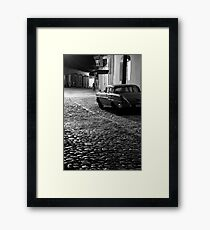 Cobble stone calle of Trinidad Framed Print
