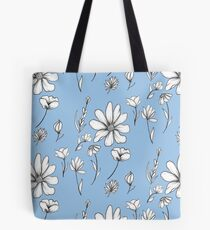 Wild flowers and Daisys Tote Bag