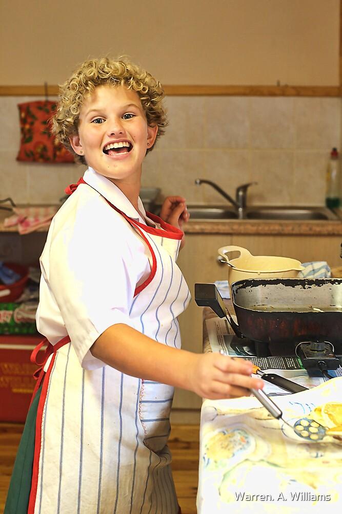 Yesterdays Chef Miss Cheri by Warren. A. Williams