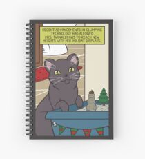 Mrs. Twinklepaws' Holiday Display Spiral Notebook