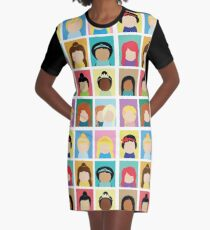 Princess Inspired Graphic T-Shirt Dress