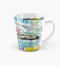 "Marianne Williamson Quote - ""Our deepest fear is not that we are inadequate"" Tall Mug"