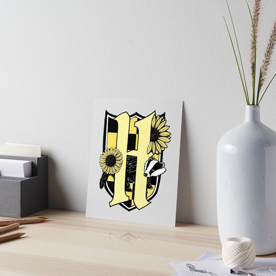 Honigdachswappen (nur Farbsymbol) Galeriedruck
