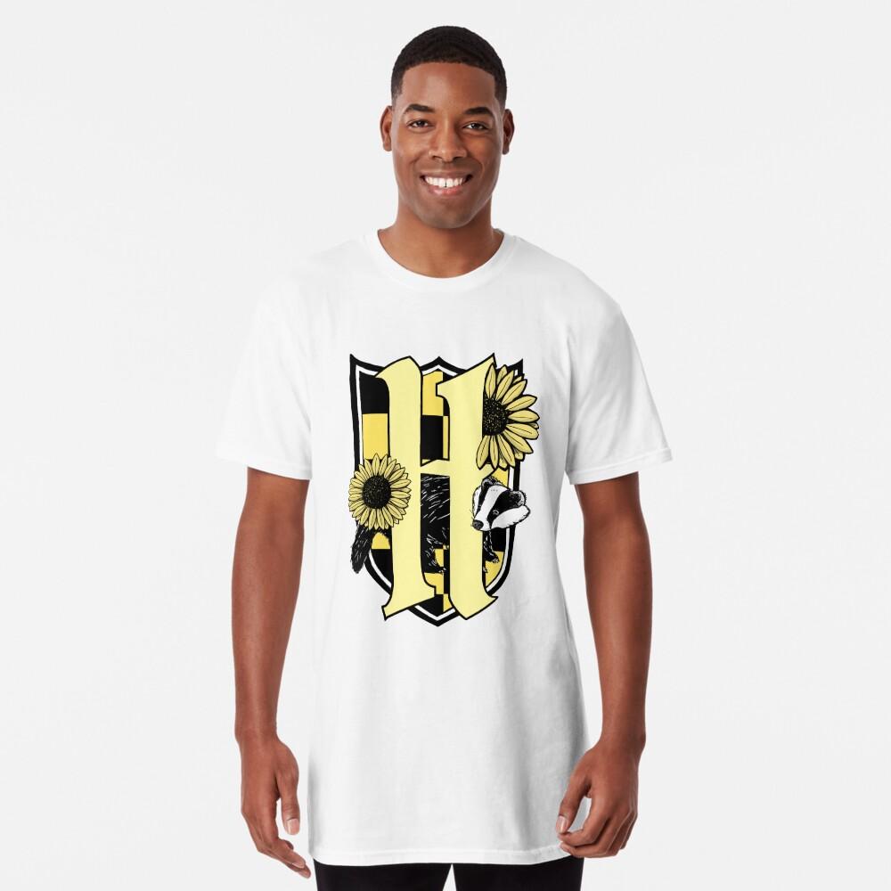 Honigdachswappen (nur Farbsymbol) Longshirt