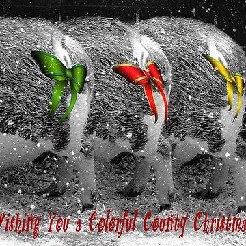 Christmas Piggies by CarolM