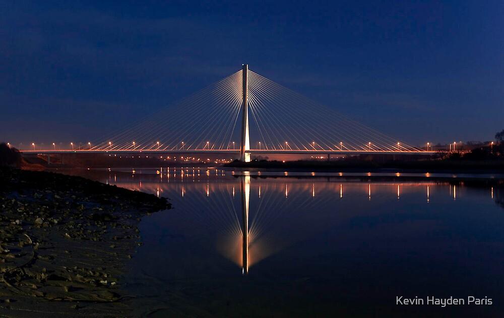 Sunset Bridge by Kevin Hayden