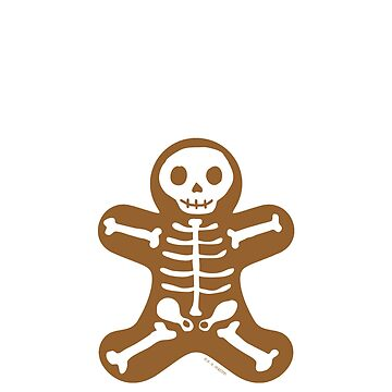 Skeleton Gingerbread Man  by ArtVixen