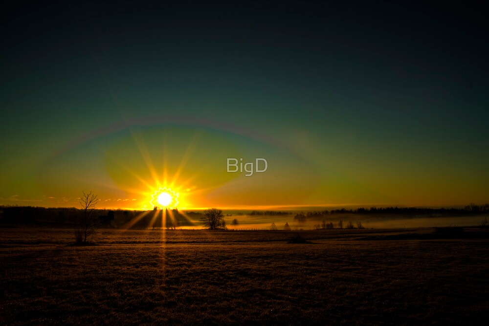 Misty Sunrise by BigD