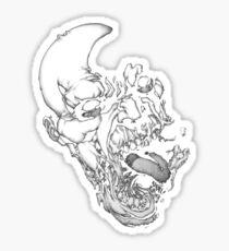 Ibraim Roberson Zombie 1 Sticker