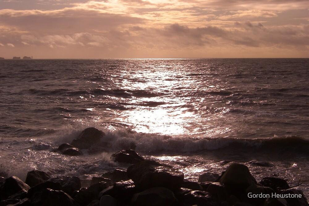 Needles Seascape by Gordon Hewstone