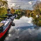 The View Upriver From Whitchurch Bridge by IanWL