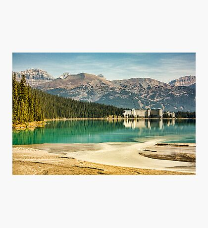 The Fairmont Chateau, Lake Louise Photographic Print