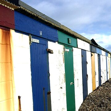 Beach Huts by GHewstone