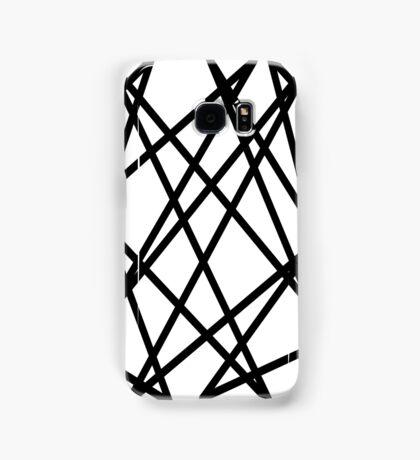 Black lines Samsung Galaxy Case/Skin
