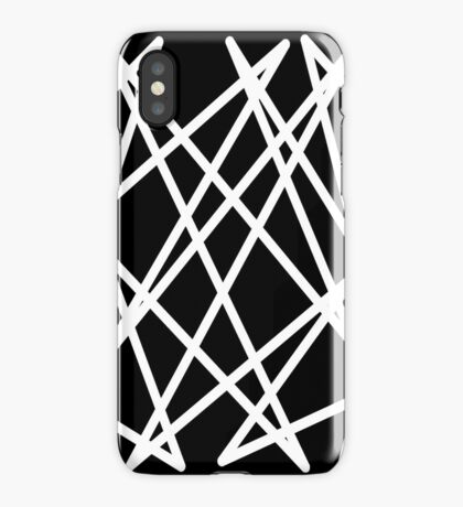 White Lines iPhone Case/Skin