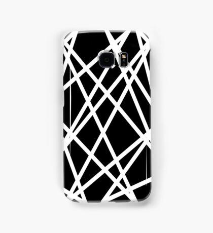 White Lines Samsung Galaxy Case/Skin