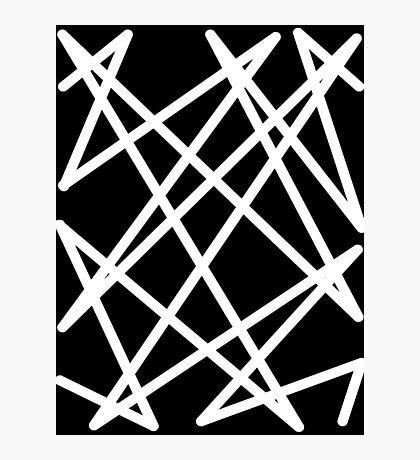 White Lines Photographic Print